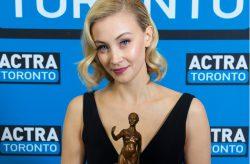 Sarah Gadon to receive ACTRA Toronto's 2016 Award of Excellence