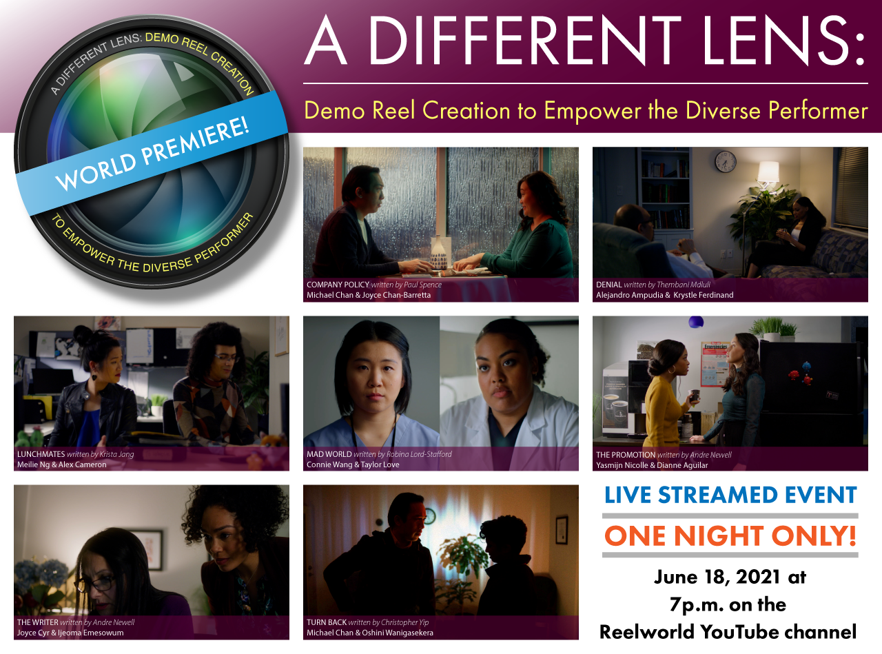 Different Lens Live Streaming event poster