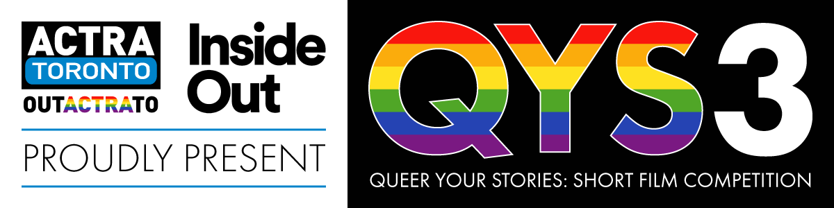 Queer Your Stories Short Film Competition 2022 banner illustration